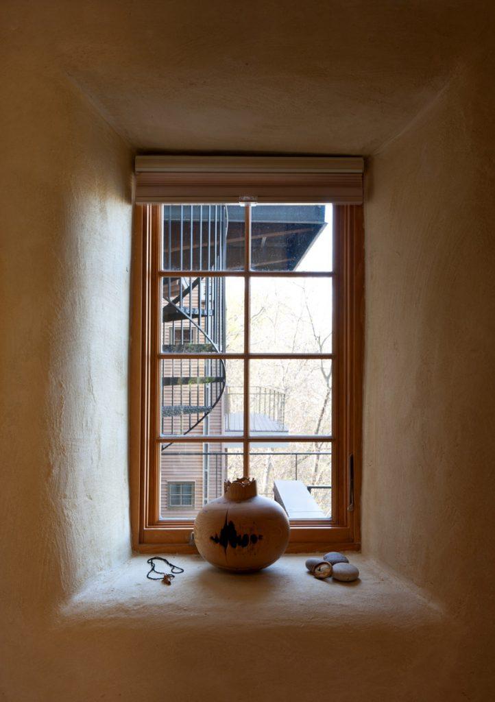 Straw Bale Window